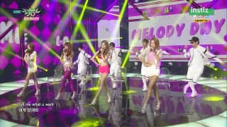 Love Me (Music Bank 03.07.15) - Melody Day