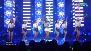 Honey Summer (Inkigayo 19.07.15) - NS Yoon-G