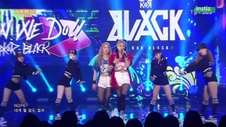How We Do (Inkigayo 12.07.15) - A.Kor Black