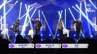 Day By Day (Inkigayo 18.01.15) (Vietsub) - High4