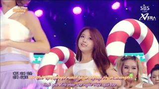 Darling (Inkigayo 03.08.14) (Vietsub) - Girl's Day