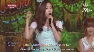 Hot Baby (Inkigayo 03.08.14) (Vietsub) - Bestie