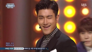 Devil (Inkigayo 19.07.15) - Super Junior