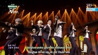 Mamacita (Inkigayo 14.09.14) (Vietsub) - Super Junior