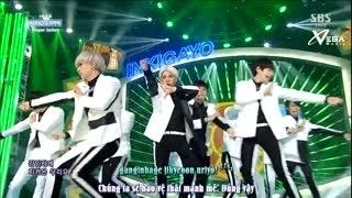 Mamacita (Inkigayo 07.09.14) (Vietsub) - Super Junior