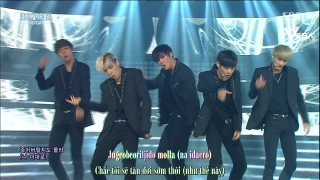 Might Just Die (Inkigayo 14.06.15) (Vietsub) - HISTORY