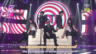 Move (Inkigayo 08.06.14) (Vietsub) - Kim Yeon Woo