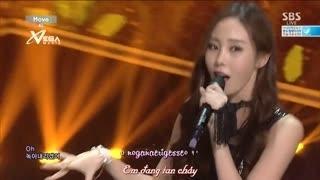 Move (Inkigayo 14.09.14) (Vietsub) - 4L