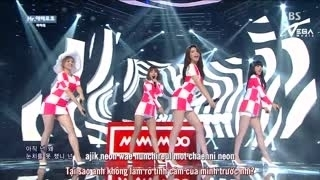 Mr. Ambiguous (Inkigayo 06.07.14) (Vietsub) - Mamamoo