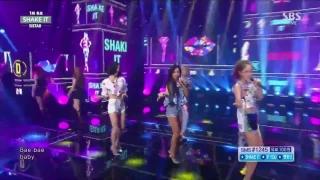 Shake It (Inkigayo 12.07.15) - Sistar