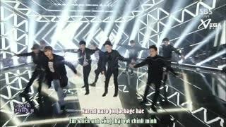 Exodus - Call Me Baby (Inkigayo 05.04.15) (Vietsub) - EXO