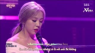 Shouldn't Have (Inkigayo 14.06.15) (Vietsub) - Baek Ah Yeon