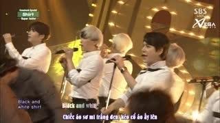 Shirt - Mamacita (Inkigayo 31.08.14) (Vietsub) - Super Junior