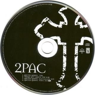 Ghetto Gospel (CD Maxi Single) - 2Pac