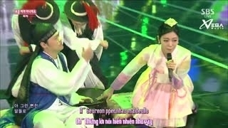 Not An Easy Girl (Inkigayo 15.02.15) (Vietsub) - Lizzy
