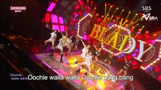 Oochie Walla Walla (Inkigayo 21.06.15) (Vietsub) - Blady
