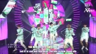 Oh My Gosh (Inkigayo 24.08.14) (Vietsub)  - Alphabeat