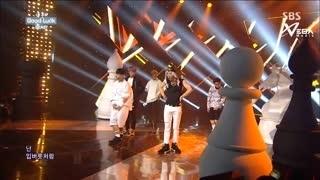Good Luck (Inkigayo 06.07.14) (Vietsub) - Beast