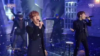 Giddy Up + It's Okay (Inkigayo 05.07.15) - BTOB