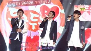 Pounding Heart (Inkigayo 08.06.14) (Vietsub) - Sweet Sorrow