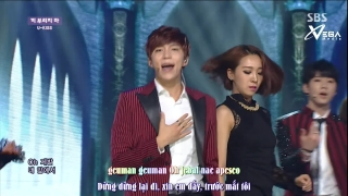 Quit Playing (Inkigayo 06.07.14) (Vietsub) - U-Kiss