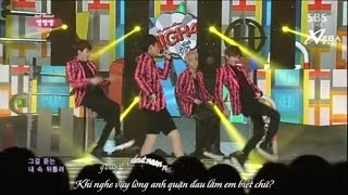 Headache (Inkigayo 31.08.14) (Vietsub) - High4