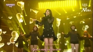 He Is Mine (Inkigayo 05.04.15) (Vietsub) - Lee Ji Min