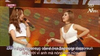 Um Oh Ah Yeh (Inkigayo 28.06.15) (Vietsub) - Mamamoo