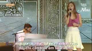 True Love (Inkigayo 21.06.15) (Vietsub) - Lee Ji Hye