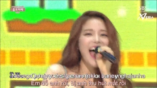 Um Oh Ah Yeh (Inkigayo 21.06.15) (Vietsub) - Mamamoo