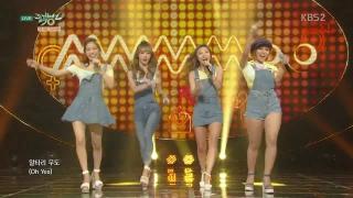 Um Oh Ah Yeh (Music Bank 10.07.15) - Mamamoo