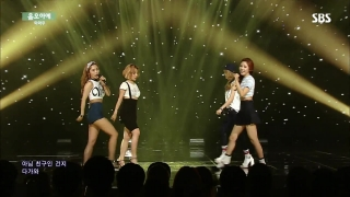 Um Oh Ah Yeh (Inkigayo 05.07.15) - Mamamoo
