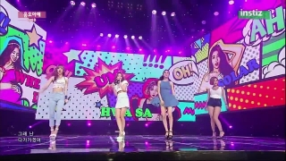 Um Oh Ah Yeh (Inkigayo 28.06.15) - Mamamoo
