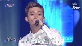 Take Out (Inkigayo 06.07.14) (Vietsub) - Untouchable