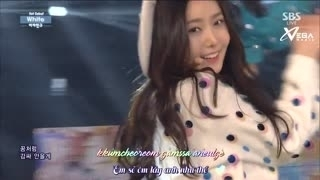 White - Glass Bead (Inkigayo 18.01.15) (Vietsub) - G-Friend