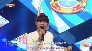 Surprise (Inkigayo 18.01.15) (Vietsub) - Halo