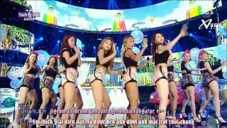 Touch My Body (Inkigayo 03.08.14) (Vietsub) - Sistar