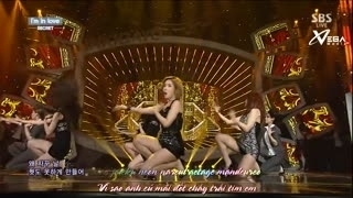I'm In Love (Inkigayo 07.09.14) (Vietsub) - Secret
