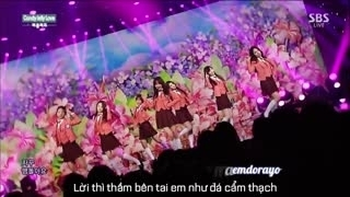 Inkigayo Ep 793 - Part 2 (07.12.14) (Vietsub) - Various Artists
