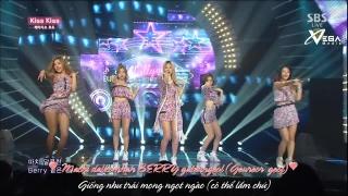 Kiss Kiss (Inkigayo 24.08.14) (Vietsub)  - Ladies' Code
