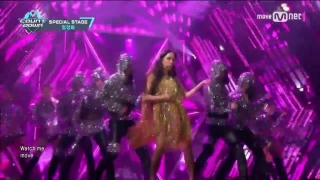 Watch Me Move (M Countdown 05.01.2017) - Uhm Jung Hwa