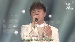 Snow Of Arpil (Inkigayo 05.04.15) (Vietsub) - Huh Gak