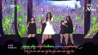 Boong Boong Boong (Inkigayo 06.07.14) (Vietsub) - Lee Ji Won