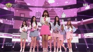 One Step Closer (Inkigayo 05.03.2017) - Gugudan (Gu9udan)