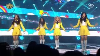 Love & Live (Inkigayo 02.04.2017) - Loona 1/3