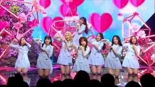 Now, We (Inkigayo 07.05.2017) - Lovelyz