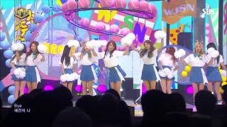 Happy (Inkigayo 11.06.2017) - WJSN (Cosmic Girls)
