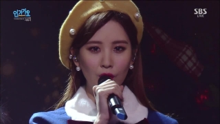 Dear Santa (Inkigayo 06.12.15) - SNSD