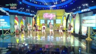 Party (Music Bank 10.07.15) - SNSD