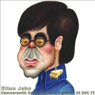 Live at the Hammersmith Odeon 22 - 12 - 1973 (Bootleg Vinyl) CD1 - Elton John